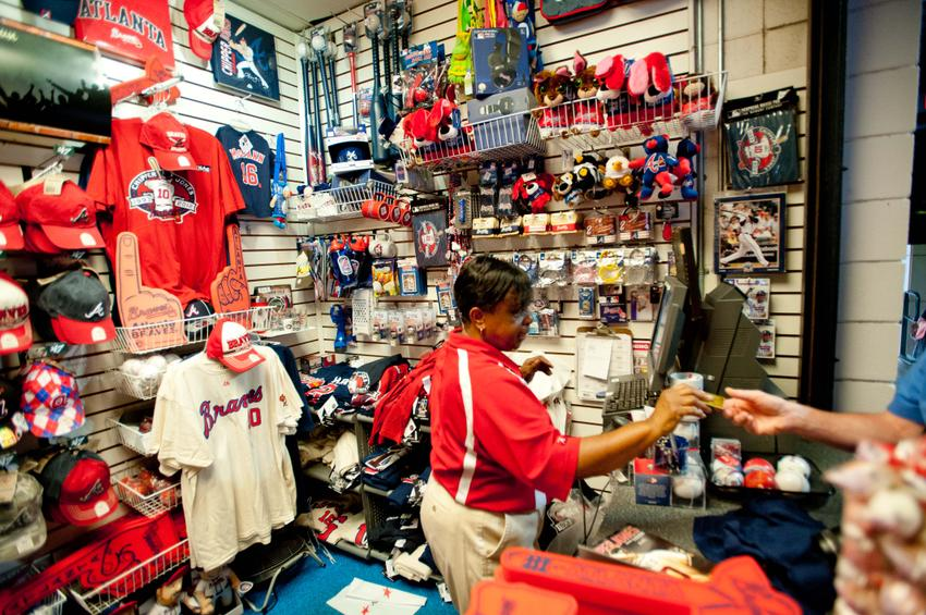 half off 1f2c8 58cfe Atlanta Braves Jersey Day Presented by Majestic Athletic