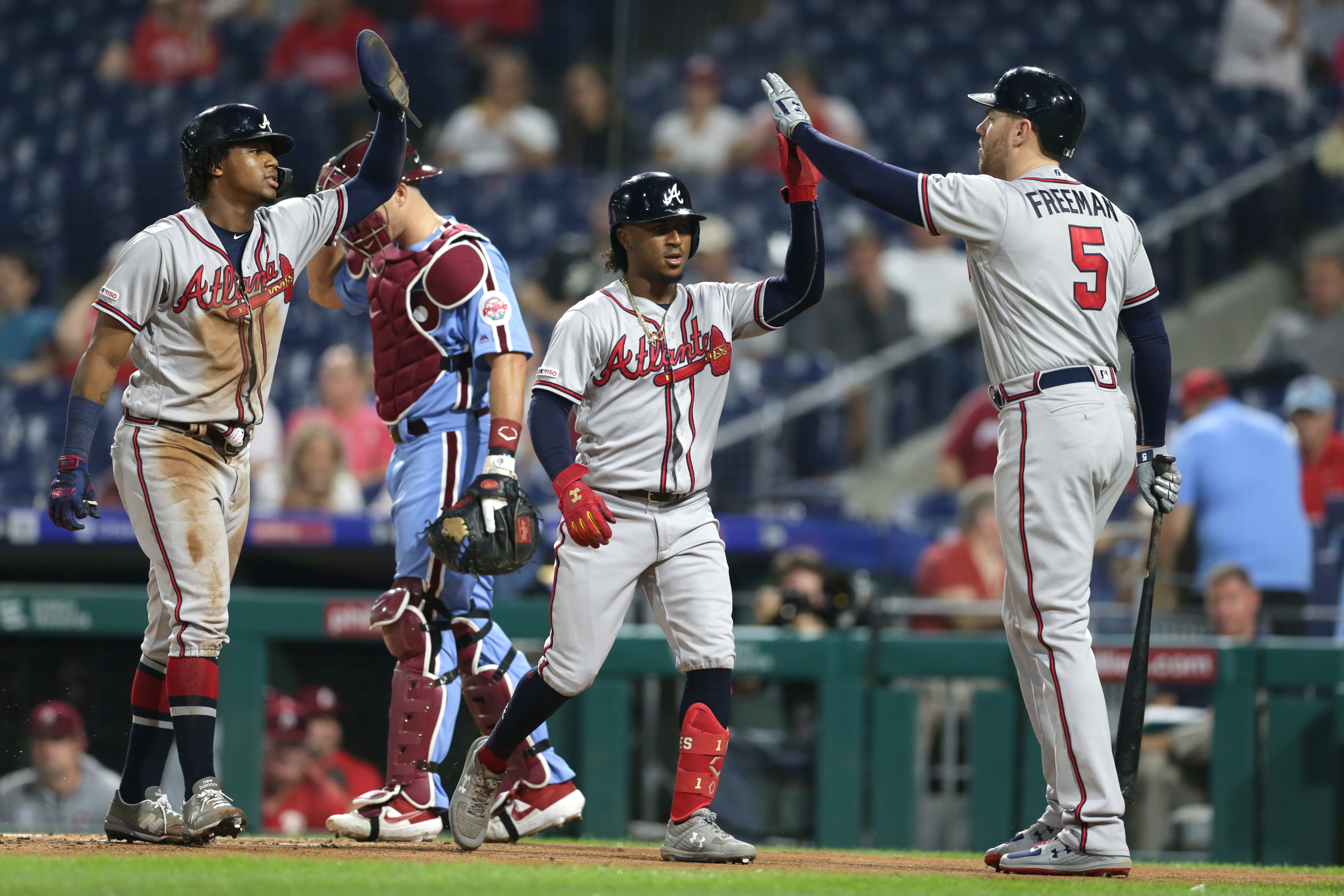 Atlanta Braves top three players right now going into 2020