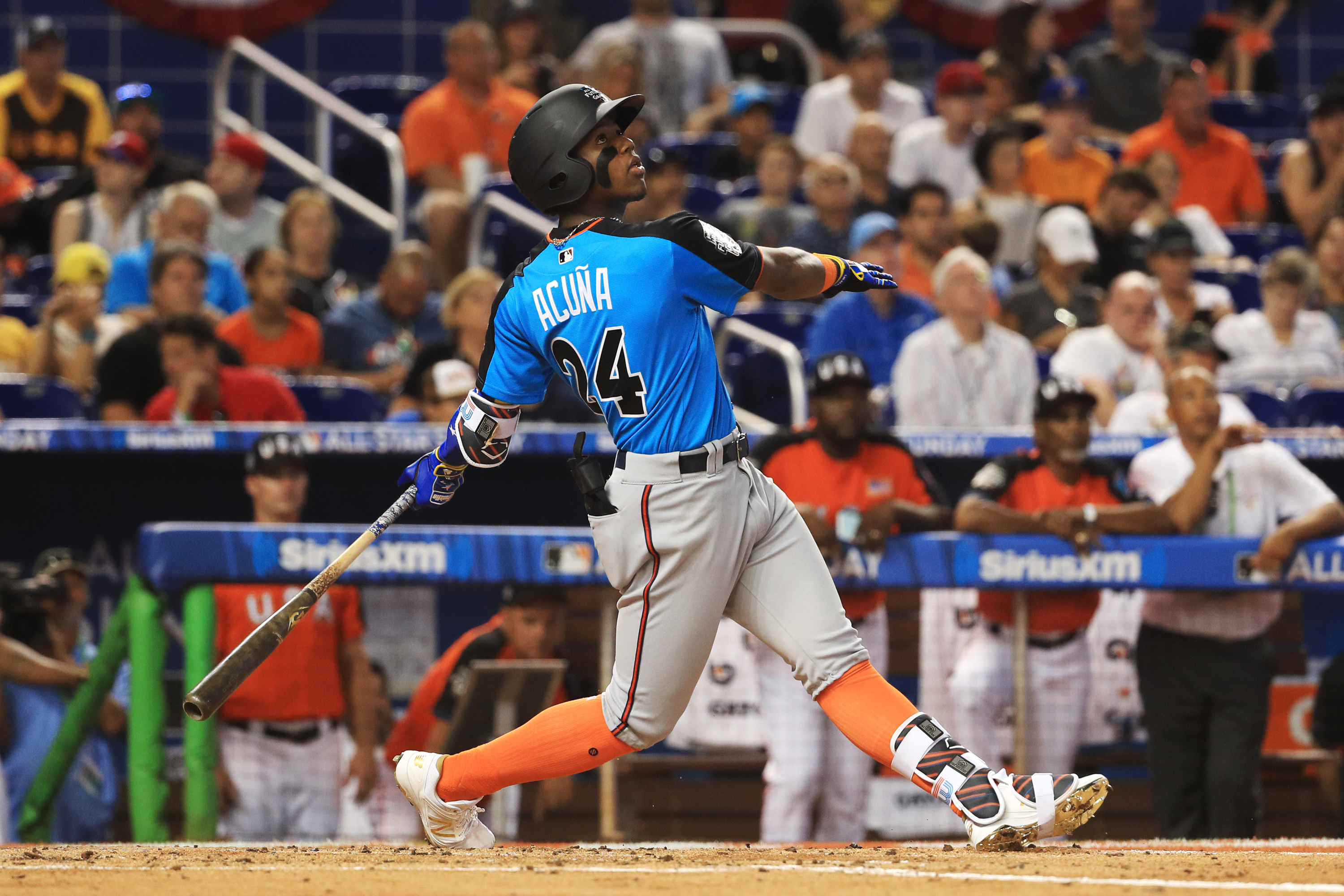 Atlanta Braves Promote Baseball Number Two Overall Prospect Ronald Acuna
